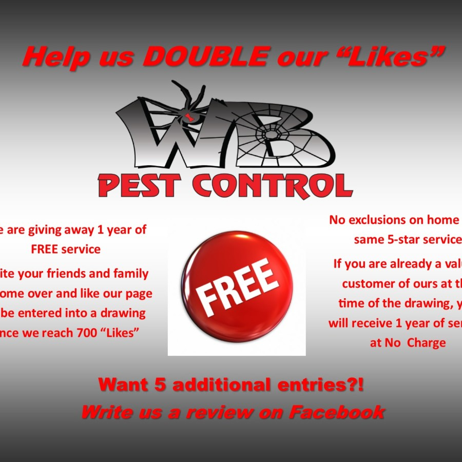WB Pest Control – Win 1 Year of Free Service « Annrd com